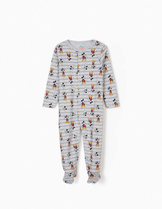 Babygrow para Bebé Menino 'Mickey', Cinza