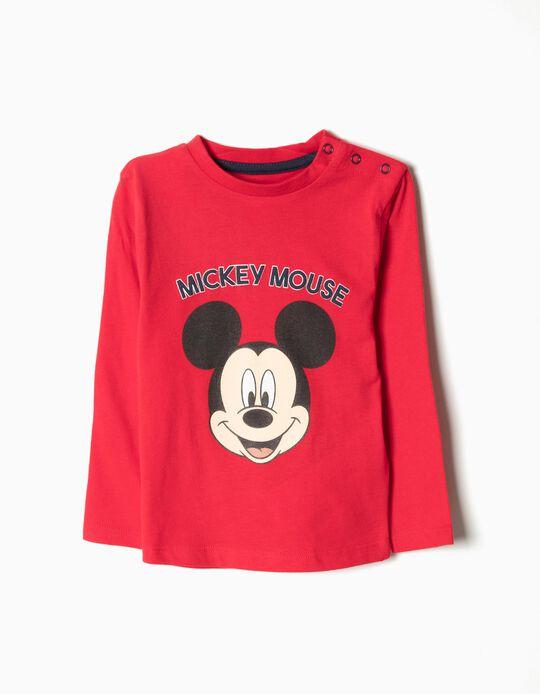 Camiseta de Manga Larga Mickey