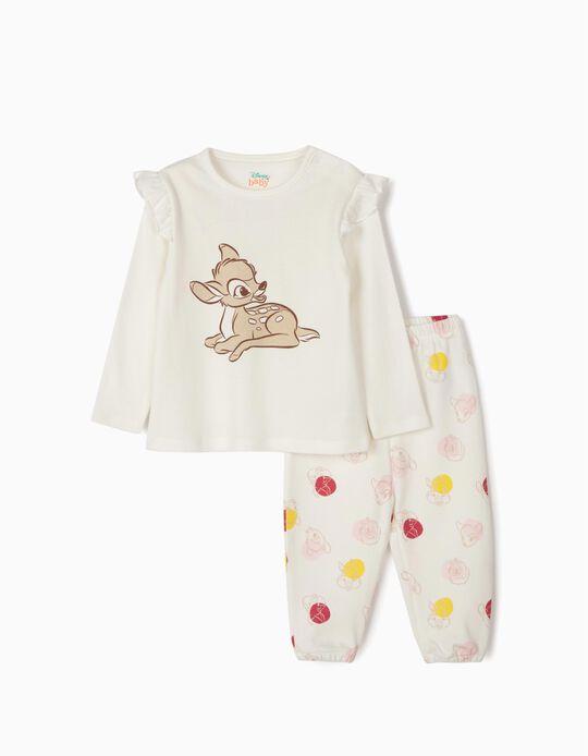 Pijama para Bebé 'Bambi', Branco