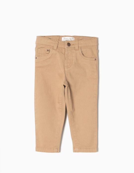 Pantalón de Sarga Beige