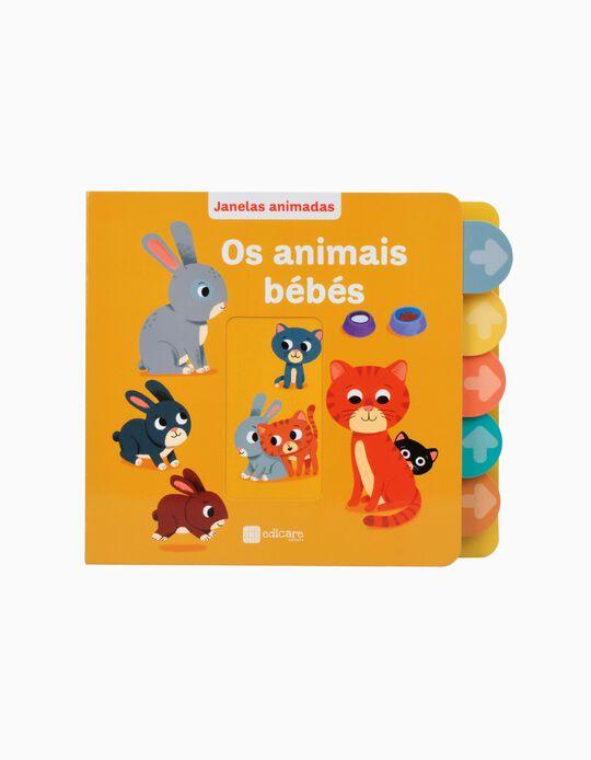 Livro Janelas animadas Os animais bebés Edicare