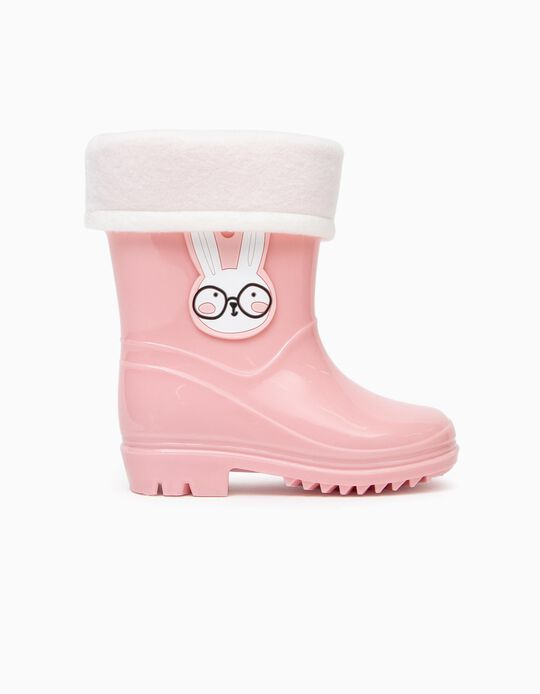 Wellies for Baby Girls 'Bunny', Pink
