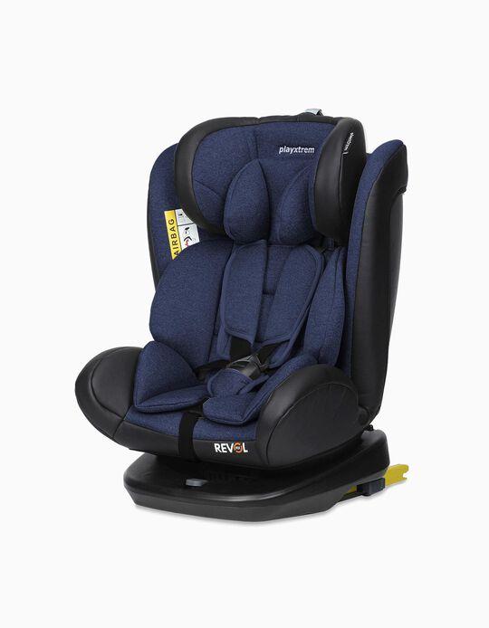 Cadeira Auto Gr 0/1/2/3 Revol Fix Playxtrem Roll