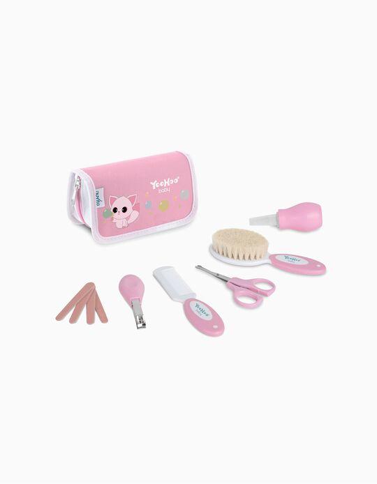 Conjunto de Higiene Yoohoo Rosa