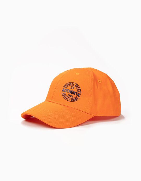 Gorra para Niño 'ZY 1996', Naranja