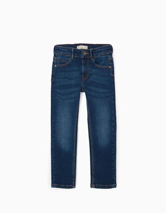 Pantalón Vaquero para Niño 'Skinny Fit', Azul