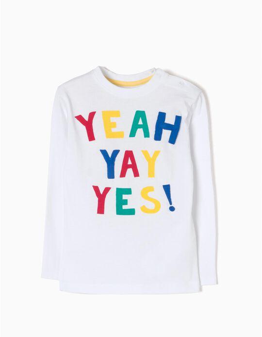 T-shirt Manga Comprida Yeah
