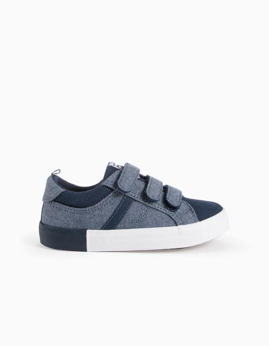 Sapatilhas Velcro Azuis