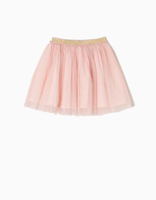 Falda de Tul Rosa Edición Especial