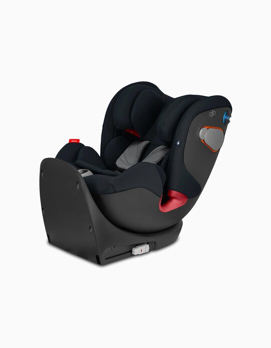 Car Seat Gr 0/1/2/3 Uni All GB Velvet Black