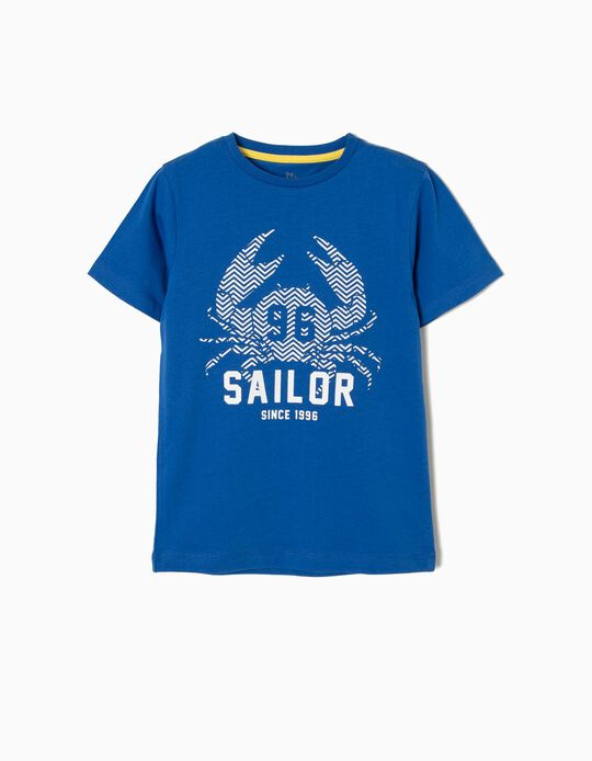Camiseta de Manga Corta Sailor