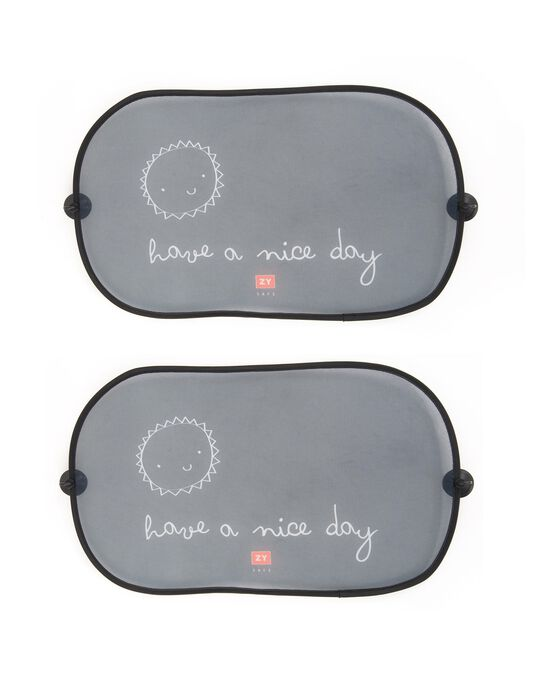 Nice Day Window Shade by Zy Baby, 2 Pieces