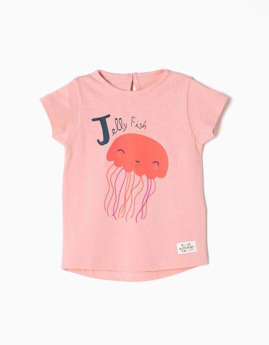 Camiseta Estampada Jellyfish