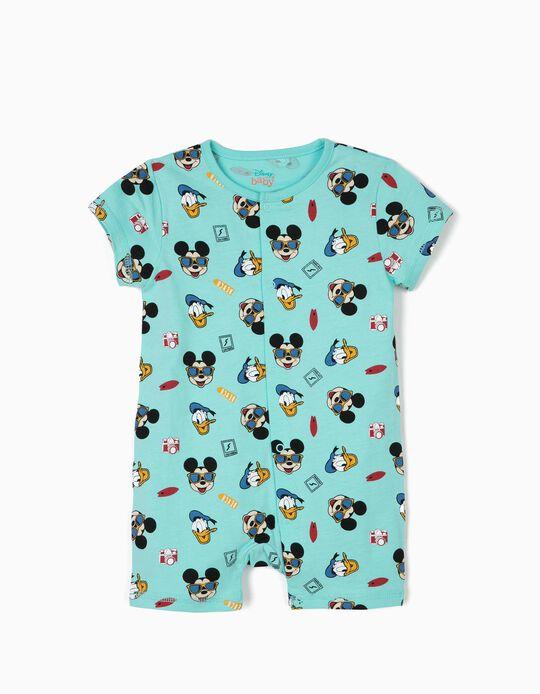 Pelele para Bebé Niño 'Mickey & Donald', Azul