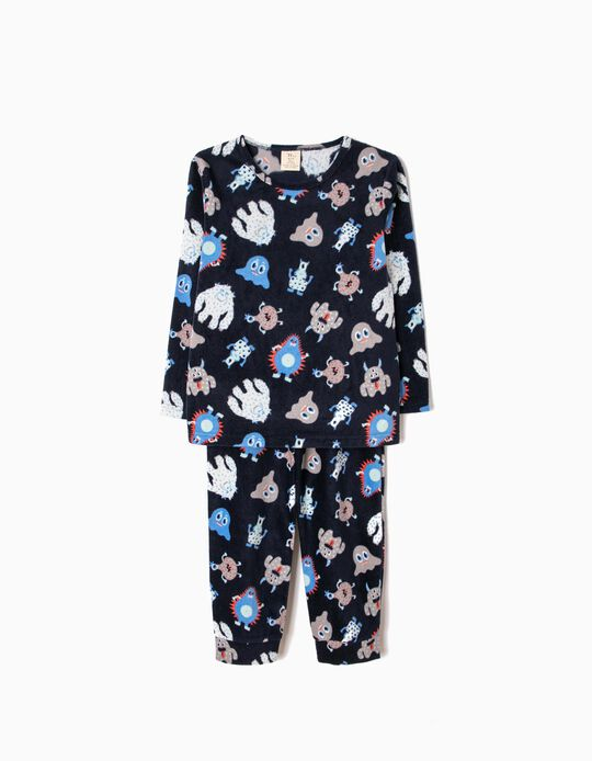 Pijama Polar Little Monsters