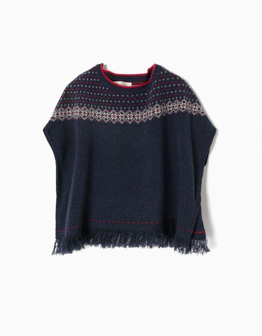 Poncho lã