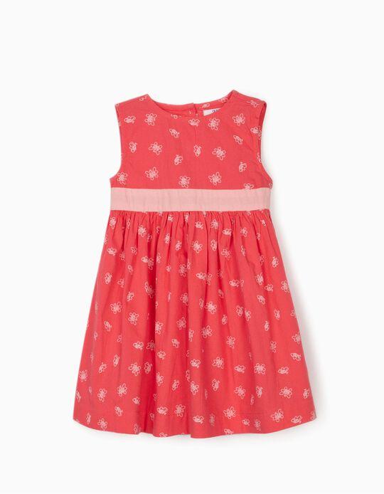Vestido para Bebé Niña 'Butterflies', Rosa
