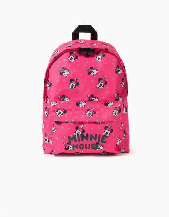 Backpack for Girls 'Pink Hat Minnie', Pink