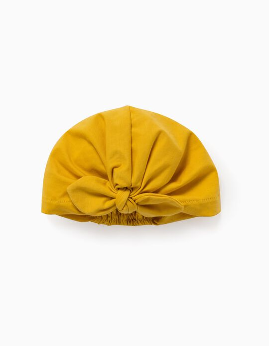 Turban for Girls & Baby Girls, Yellow