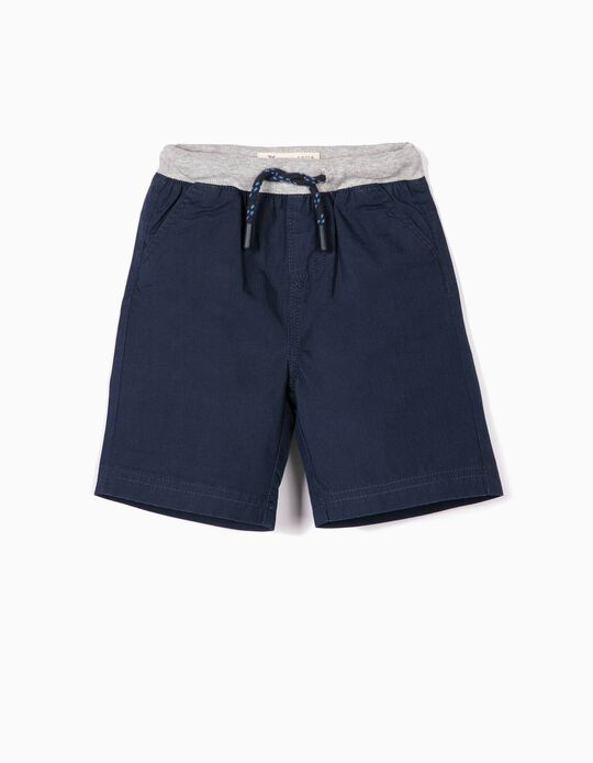Shorts for Baby Boys 'Ripstop', Dark Blue