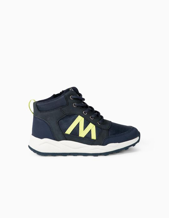 Mountain Boots fro Boys 'Explore'. Dark Blue