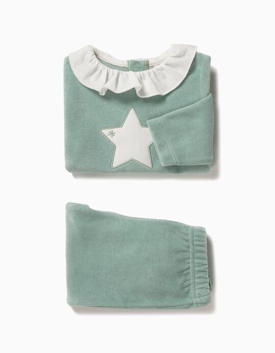 Pijama Estrela Algodão Orgânico
