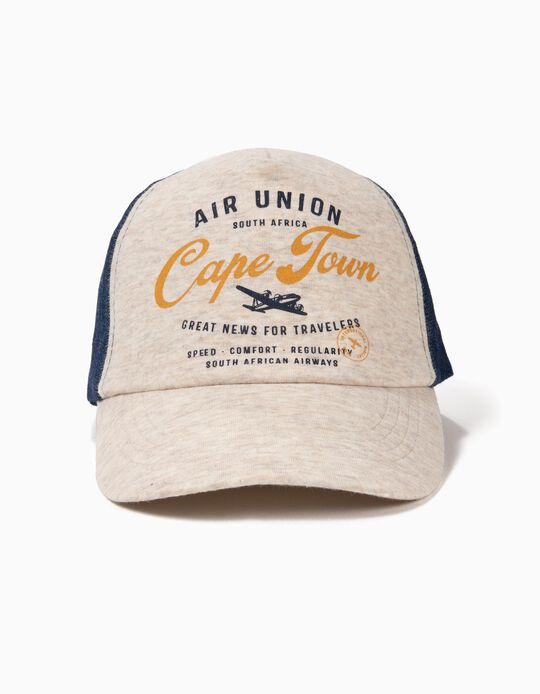 Gorra para Niño 'Air Union', Gris y Denim