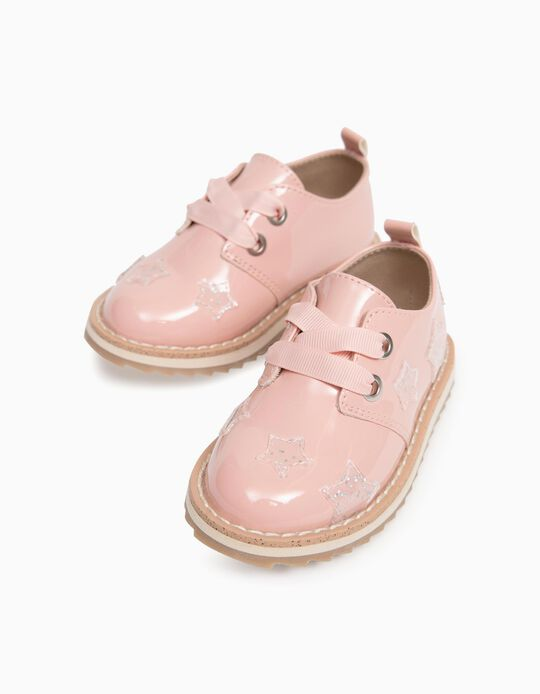 Patent Shoes for Baby Girls, Pink