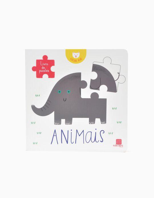 Livro De Puzzles - Animais  Edicare