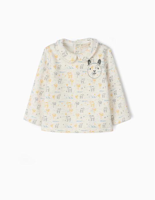 Sweatshirt para Recém-Nascido 'Camels', Bege