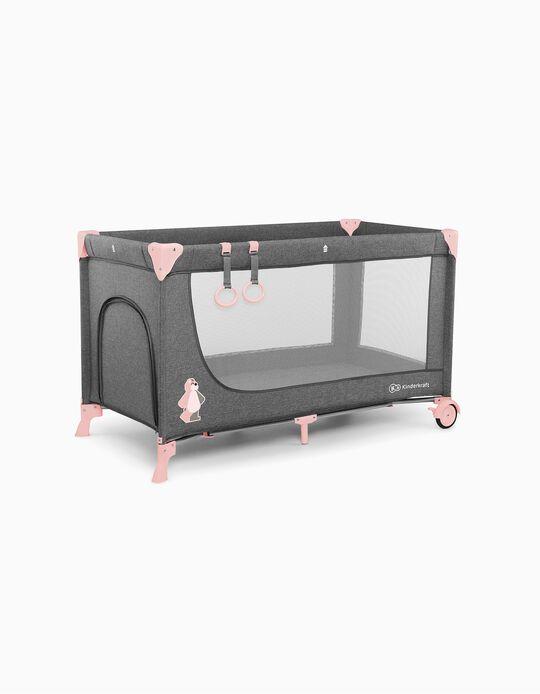 Cama De Viagem Joy Basic Kinderkraft Pink