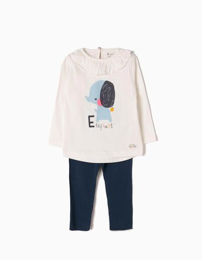 Camiseta de Manga Larga y Leggings Elephant