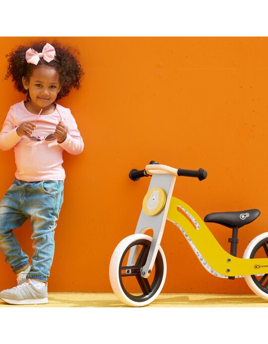 Bicyclette d'apprentissage Uniq Kinderkraft miel