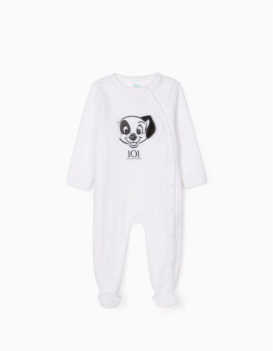 Polar Sleepsuit for Babies '101 Dalmatians', White