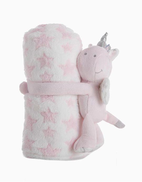 Unicorn and Blanket Set, Little Kids
