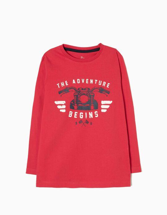 T-shirt Manga Comprida Adventure 96