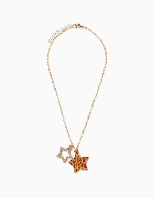 Collar Dorado Estrellas