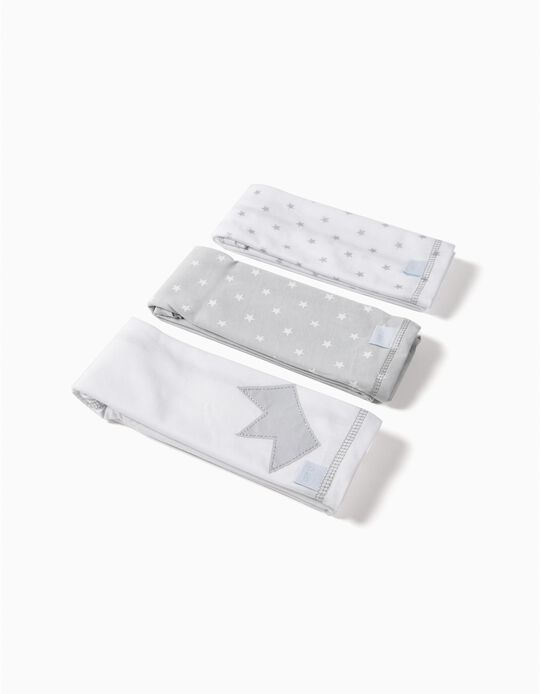 Pack of 3 Unisex Jersey Knit Nappies by Zy Baby