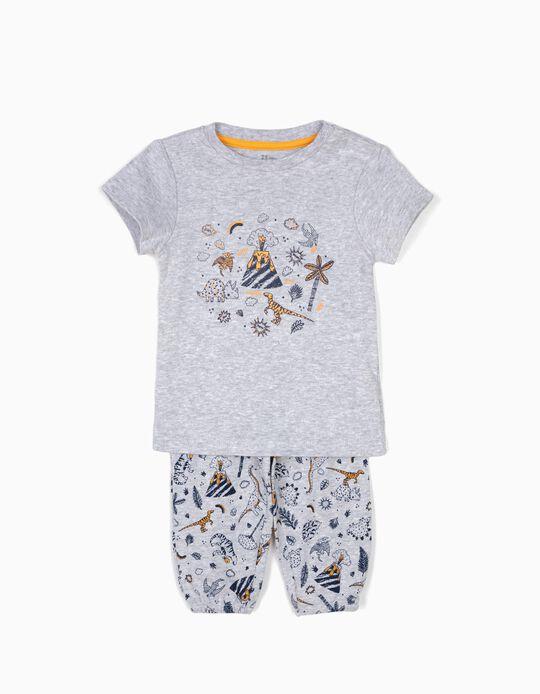 Pijama T-shirt e Calças Dinossauros