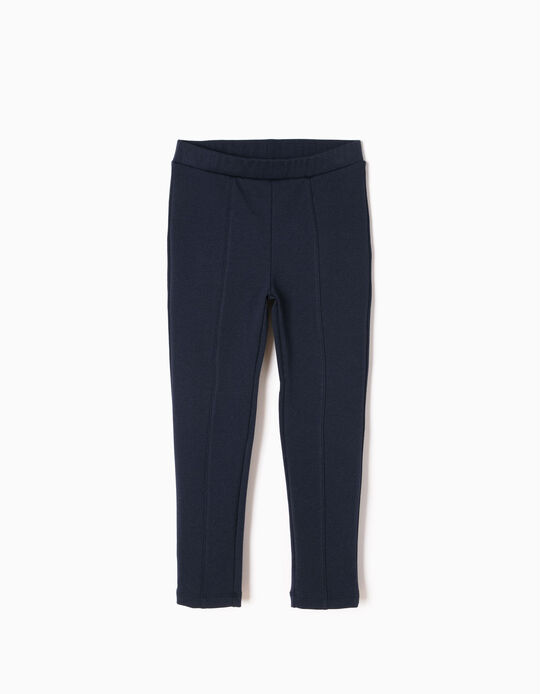Leggings Jersey Azul Marinho