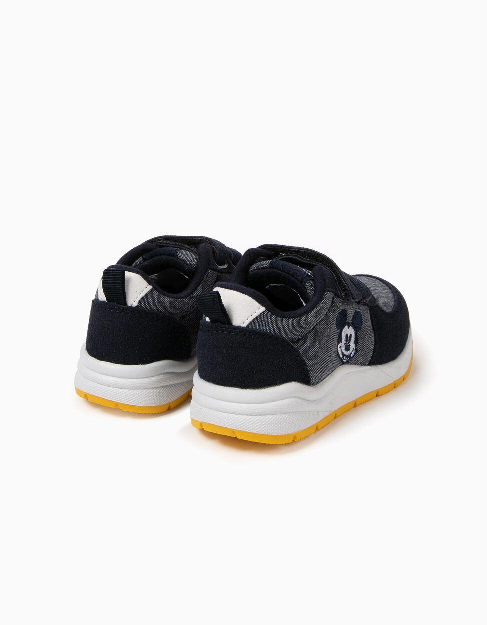 Zapatillas con Cierre Autoadherente Mickey