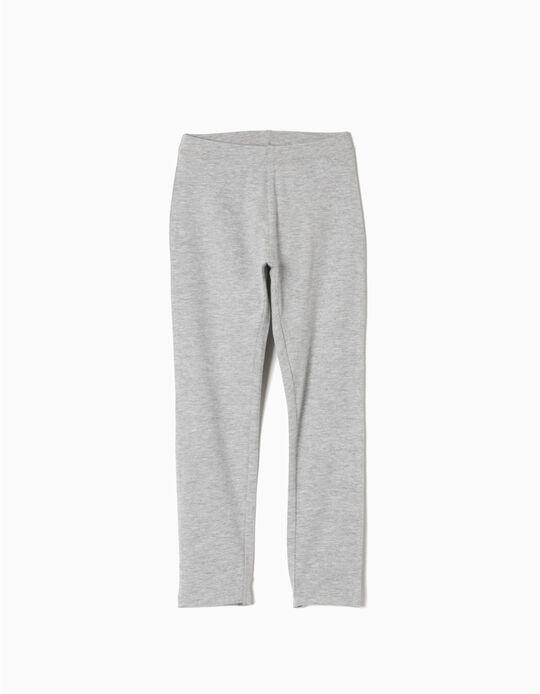 Pantalón Leggings Gris Claro