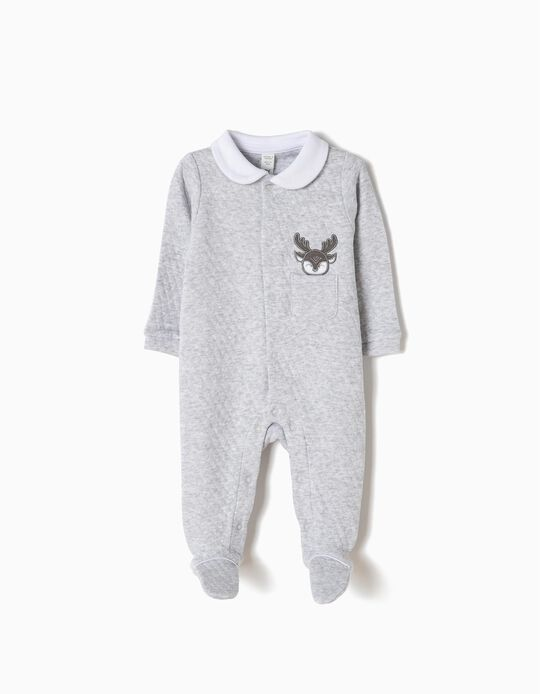 Babygrow Moose Cinzento