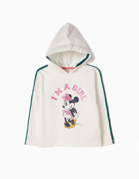 Sudadera con Capucha Minnie Girl