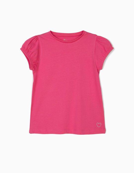 Camiseta para Niña, Rosa