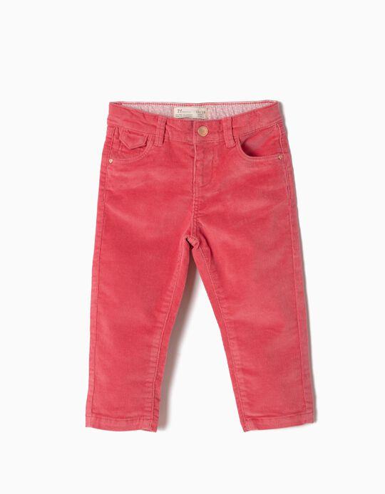 Pantalón de Pana Rosa