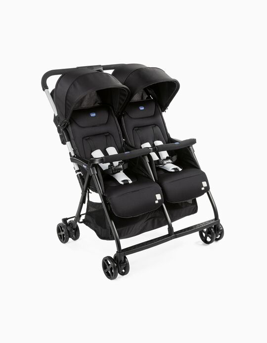 Silla de Paseo Gemelos Ohlala' Twin Chicco Black Night