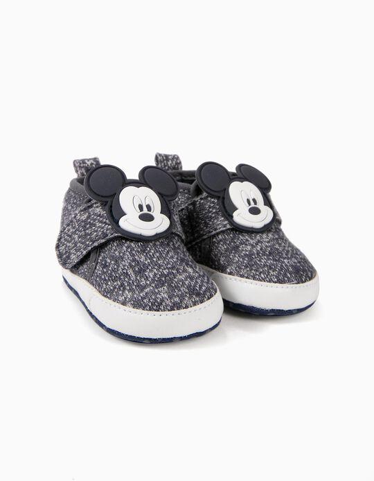 Sapatilhas para Recém-Nascida 'Mickey', Azul Escuro