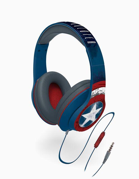 Headphones com Microfone Capitão América