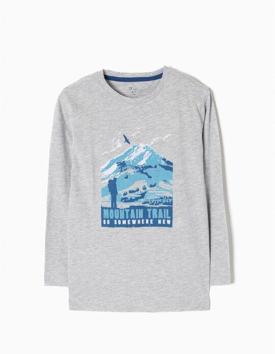 Camiseta de Manga Larga Trail